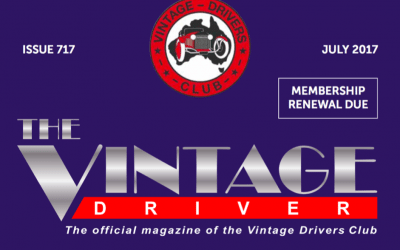 Brian Tanti Becomes Patron of the Vintage Drivers' Club